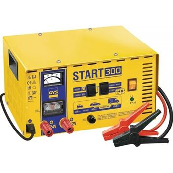 GYS Batterieladegerät START 300, 12 / 24 V, Boost 12V: 10-23 / 24V: 8-17 A