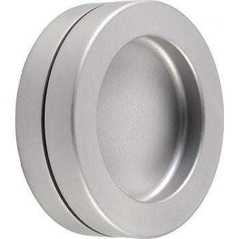 KWS Muschelgriff 5253 Aluminium schwarz matt beschichtet Einlass-D. 50mm