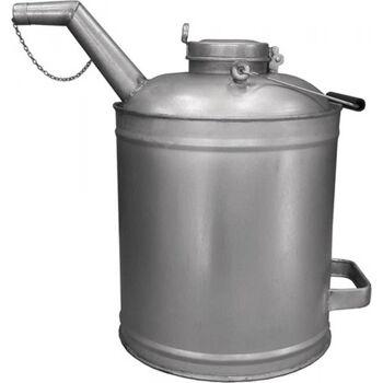 SAMOA HALLBAUER Ölvorratskanne VKV 10000, Metall, verzinkt 10l