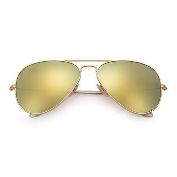 Zwei Farbsortiment Pilotenbrille
