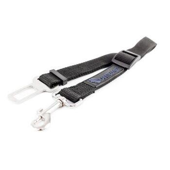 Lantelme Hunde Sicherheitsgurt Adapter XL blau extra breit stark Auto Gurtadapter ausziehbar 60 bis 95 cm