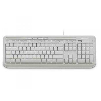 Microsoft Wired Keyboard 600 - DE USB Weiß ANB-00028