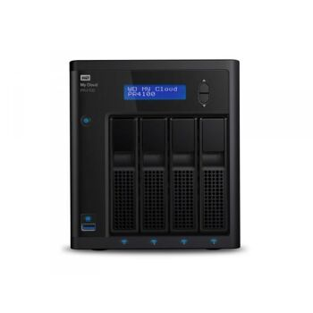 WD My Cloud Pro PR4100 16TB 4Bay NAS 4xHDD 4Gb RAM WDBNFA0160KBK-EESN