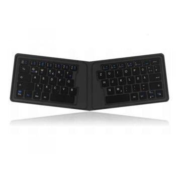 KeySonic KSK-3010BT Bluetooth QWERTZ Deutsch Schwarz 60091