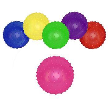 27-71085, Noppenball 10 cm, Igelball, Stachelball, Massageball, Wasserball, Strandball, Beachball