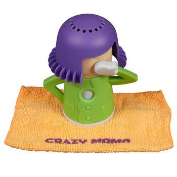 Grosse Palettenaktion - jetzt wird aufgeräumt - Crazy Mama lila grün - 480 Stück
