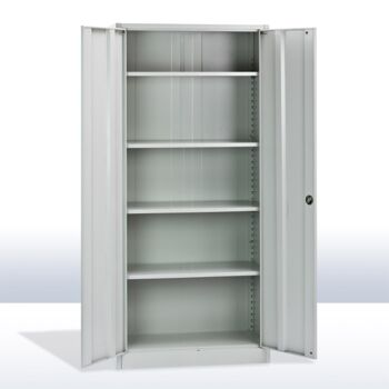 Metall Leichtbauschrank Eco 4 Böden 180x81x39