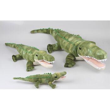 27-31667, Plüsch Krokodil 100 cm Premium Qualität