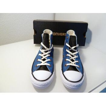 Converse hoch Nightfall Blue/Black/White unisex Gr.35,5