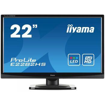 IIYAMA 54.6cm (21,5 ) E2282HS-B1  16:9 DVI+HDMI bl.LED E2282HS-B1