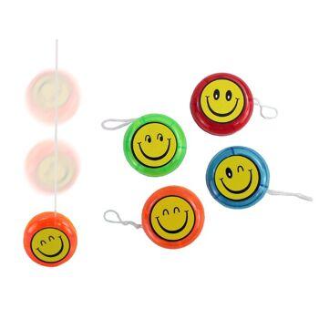 JoJo mit LED Licht und Lach Gesicht Smile, YoYo, Freilauf JoJo+++++++