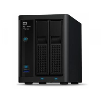 WD My Cloud Pro PR2100 20TB 2Bay NAS 2xHDD 4Gb WDBBCL0200JBK-EESN