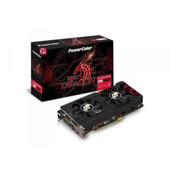 PowerColor Red Dragon Radeon RX 570 - Grafikkarte - AXRX 570 8GBD5-3DHD/