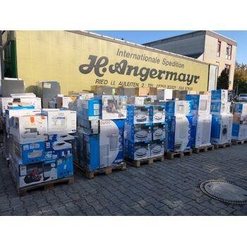1A - WARE Mixpaletten mit Elektroartikeln/Haushaltswaren NEUWARE