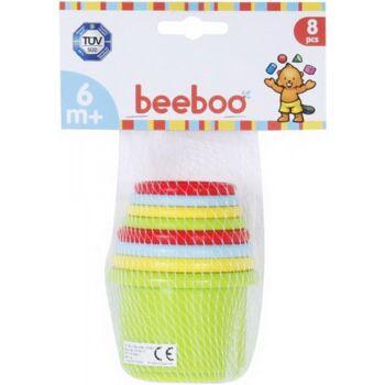 beeboo Baby Stapelpyramide, 8-teilig, 1 Set