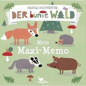 Der bunte Wald - Mein Maxi Memo