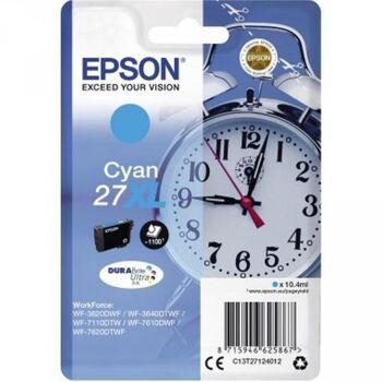 Epson Tintenpatrone 27XL 1.100Seiten 10,4ml cyan