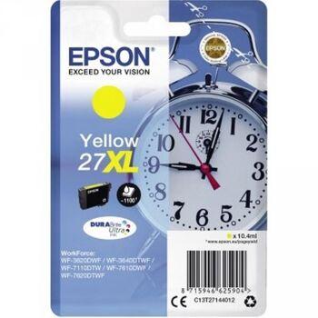Epson Tintenpatrone 27XL 1.100Seiten 10,4ml gelb