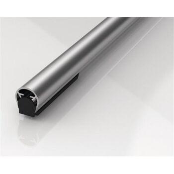 Fingerschutzprofil BU-18K+ Länge 1000 mm Bandseite silberfarben eloxiert