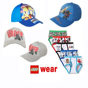 LEGO caps and panties for kids wholesale