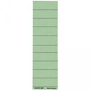 Leitz Beschriftungsschild 19010055 blanko 4zeilig grün 100 St./Pack.