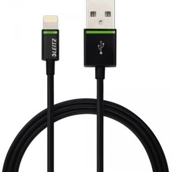 Leitz Kabel Complete 62090095 Lightning auf USB 30cm schwarz