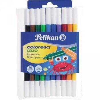 Pelikan Faserschreiber Colorella duo C407/10 973172 10 St./Pack.