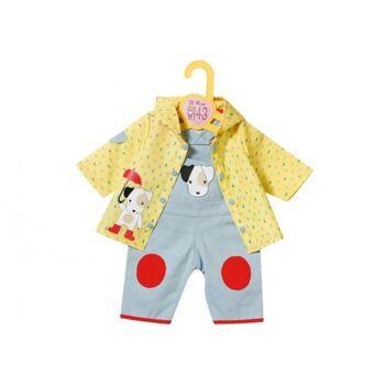 Zapf Dolly Moda Latzhose mit Regenjacke, 43cm