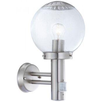 LED Wandleuchte ''WL-2760'' mit PIR Sensor ØxH 200x350mm, PIR 110°, E27 Fassung