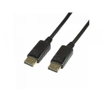 Logilink DisplayPort 1.2 Anschlusskabel, 4K2K/60Hz, 7,5m (CV0076)
