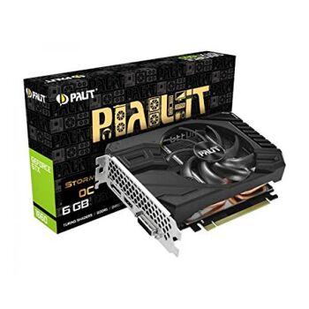 Palit GTX1660 STORMX OC 6G   6144MB,PCI-E,DVI,HDMI,3xDP