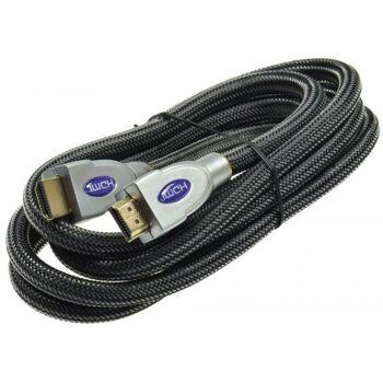 Premium HDMI Kabel, HDMI 2.0/1.4, 2m 3D, HDCP, 4K/UHD, ARC, CEC, HEC
