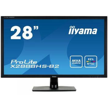 IIYAMA 70,8cm (28 )  X2888HS-B2 16:9 DVI+HDMI+DP black Spk X2888HS-B2