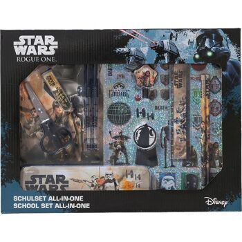 27-46247, Star Wars Schulset 11-teilig, All in One Star Wars Rogue One +++++++