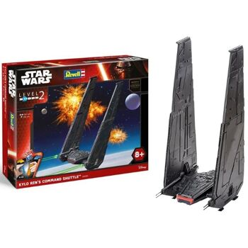 27-50170, REVELL Star Wars Kylo Ren's Command Shuttle