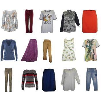 Damen Marken Mix große Größen Bekleidung Übergrößen Restposten neu 1. Wahl