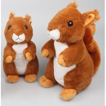 27-26606, Plüsch Eichhörnchen 24 cm hochwertig, Premium Qualität