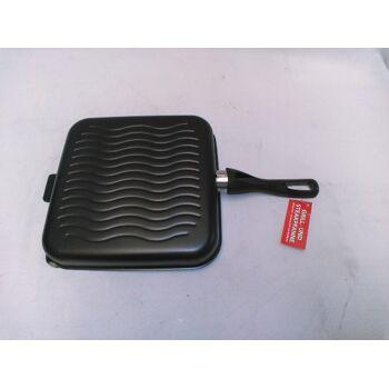 Grill und Steakpfanne mit Keramikbeschichtung 28x28x40cm für alle Herdarten