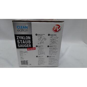 Zyklon Staubsauger Clean Edition Hepa 700 Watt Rot Grau beutellos
