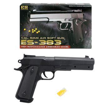 27-60358, Kugelpistole 25 cm, mit Magazin, Softair Pistole inkl. Munition