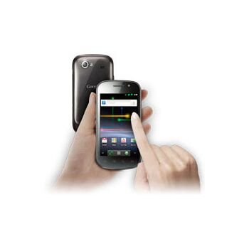 Samsung Nexus S i9023 Smartphone (10,16 cm (4 Zoll) Super Clear LCD Display, Touchscreen, Android, 5 Megapixel Kamera) schwarz