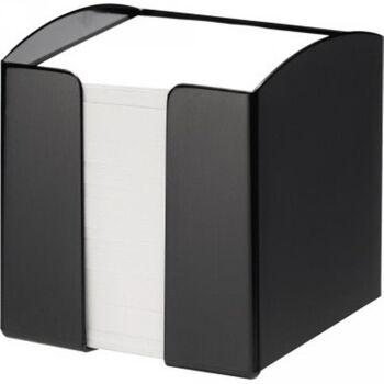 DURABLE Zettelbox TREND gefüllt 90x90mm PS schwarz