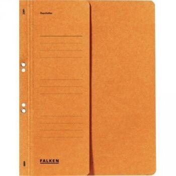 Falken Ösenhefter DIN A4 kaufm. Heftung 250g Karton orange