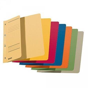 Leitz Ösenhefter 37400099 DIN A4 kfm. Heftung Karton farbig sortiert, 50er pack