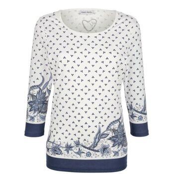 Shirt mit modischem Paisleymuster