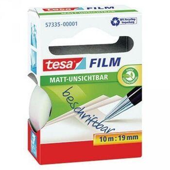 tesa Klebefilm tesafilm matt- unsichtbar 57335-00001 19mmx10m