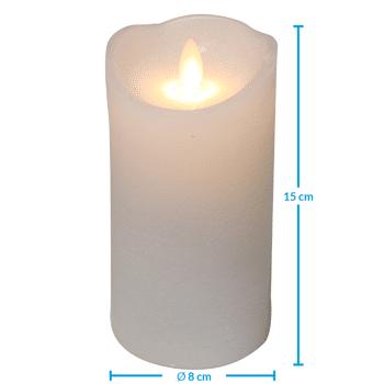 Grosse Kerzenaktion - jetzt wird aufgeräumt - LED Echtwachskerzen 15 cm