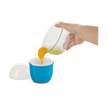 Große Lageraktion - jetzt wird aufgeräumt - Cracking Egg - klein/Größe M - Der ultimative Mikrowellen-Eierkocher.