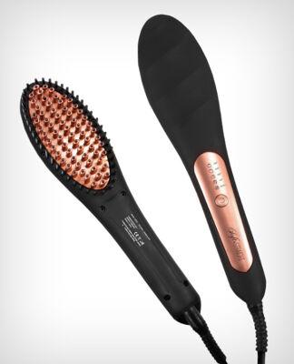 Große Palettenaktion - jetzt wird aufgeräumt - Soft & Straight Haarglättungsbürste bronze - Beauty - 376 Stück