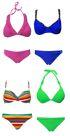 Markenbadebekleidung - Verschiedene Livera Bikinisets